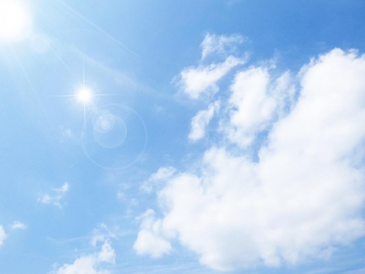 紫外線、太陽光のイメージ