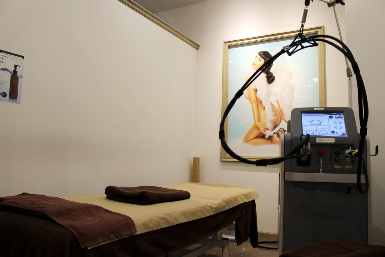レジーナクリニックの施術室