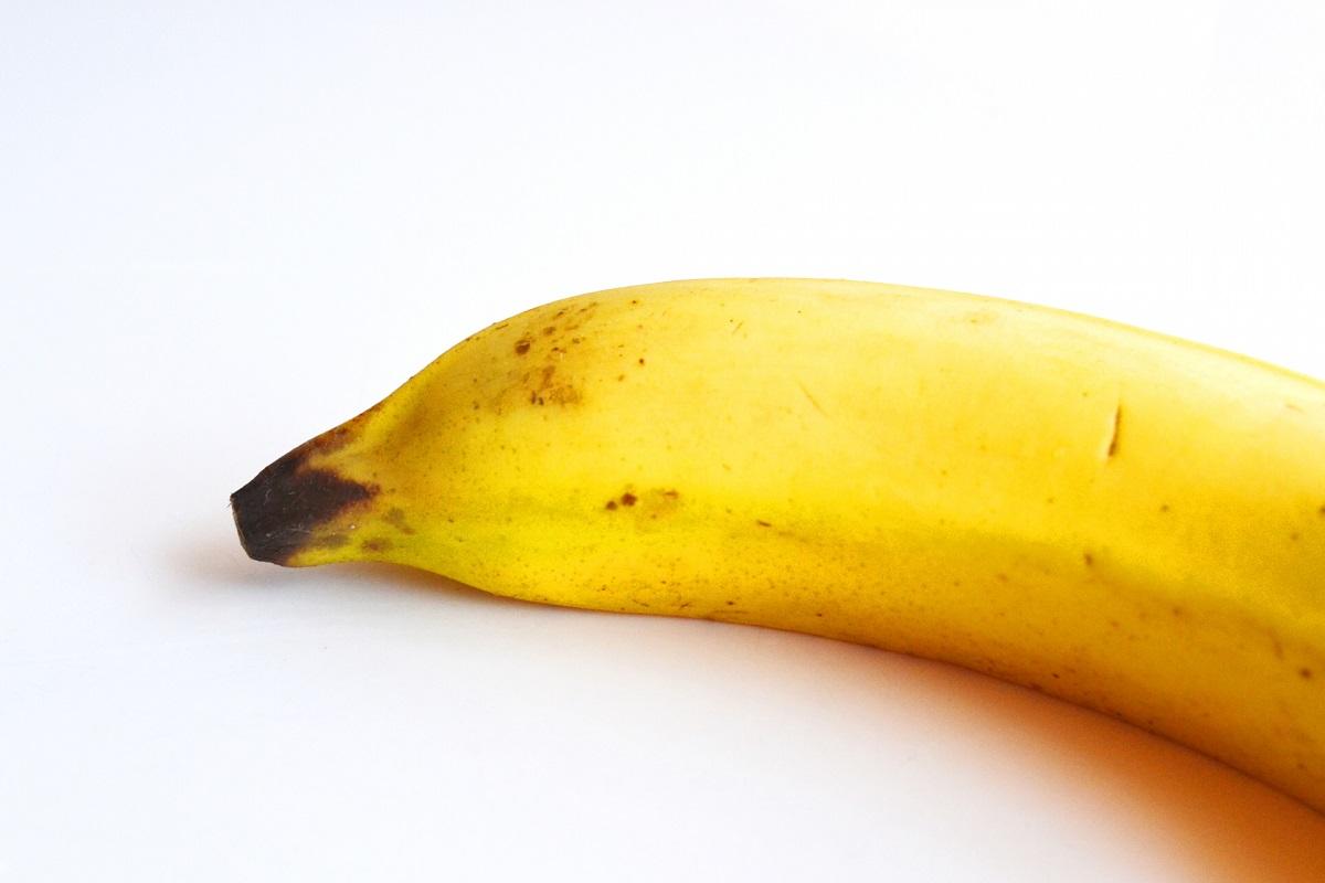 黒ずんでいるバナナ